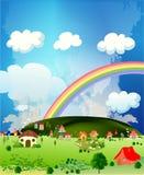 Terra da felicidade Imagem de Stock Royalty Free