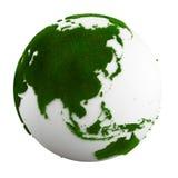 Terra da grama - Ásia Fotografia de Stock Royalty Free