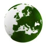 Terra da grama - fim de Europa acima Foto de Stock Royalty Free