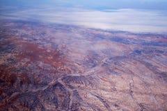 Terra 5 da neve fotografia de stock