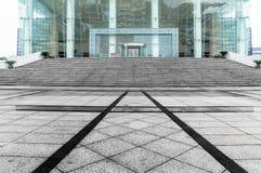 Terra da plaza do museu da cultura de Jiangyin Fotos de Stock Royalty Free