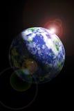 Terra da spazio Immagini Stock Libere da Diritti