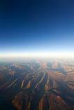 Terra dal cielo Immagine Stock Libera da Diritti