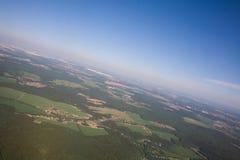 Terra de acima Imagem de Stock Royalty Free
