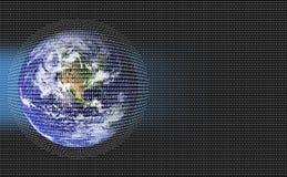 Terra de Digitas Foto de Stock