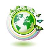Terra de Eco Imagem de Stock