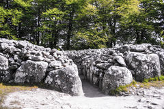 Terra de enterro dos montes de pedras de Clava Fotografia de Stock Royalty Free