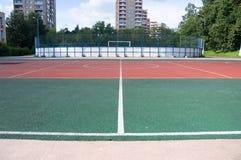 Terra de esportes Foto de Stock