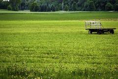 Terra de exploração agrícola Midwest Fotografia de Stock