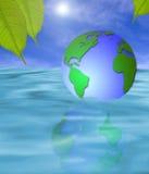 Terra de flutuação Imagens de Stock