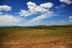 Terra de Hunshandake Sandy Imagem de Stock