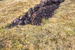 Terra de Islândia Imagens de Stock Royalty Free