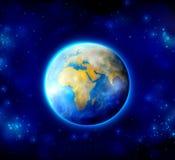 Terra de matriz Fotografia de Stock Royalty Free