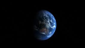 Terra de Photoreal - Austrália Foto de Stock Royalty Free