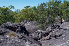 Terra de Quinkan Fotografia de Stock