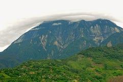 Terra dei guardiani della montagna Immagine Stock