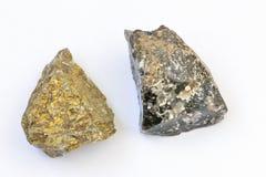 Terra dei minerali Fotografie Stock
