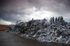 Terra del deposito del metallo Immagini Stock Libere da Diritti