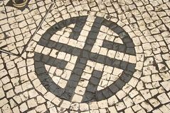 Terra del mosaico Fotografia Stock Libera da Diritti