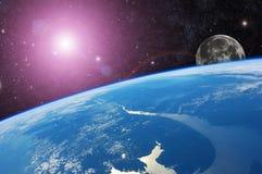 Terra del pianeta fotografie stock