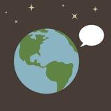 Terra del pianeta Fotografie Stock Libere da Diritti
