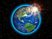 Terra del pianeta Immagine Stock