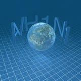 Terra del pianeta. Immagini Stock Libere da Diritti