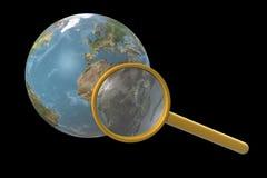 Terra del pianeta. Fotografia Stock Libera da Diritti
