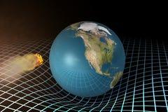 Terra del pianeta. Immagini Stock