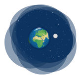 Terra del pianeta Illustrazione Vettoriale