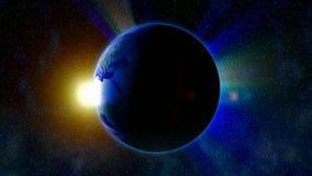 Terra del pianeta stock footage