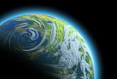 Terra del pianeta Illustrazione di Stock