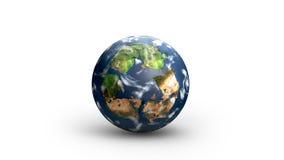 Ricicli il mondo Immagini Stock Libere da Diritti