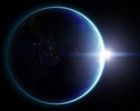 terra del pianeta 3D Elementi di questa immagine ammobiliati dalla NASA altro Fotografie Stock Libere da Diritti