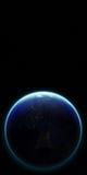 terra del pianeta 3D Elementi di questa immagine ammobiliati dalla NASA altro Immagini Stock
