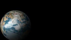 Terra del pianeta da spazio illustrazione vettoriale