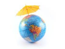 Terra del pianeta del globo Fotografie Stock Libere da Diritti