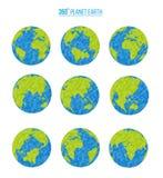 Terra del pianeta Illustrazione di vettore Immagine Stock Libera da Diritti