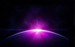 Terra del pianeta nello spazio Immagine Stock Libera da Diritti