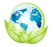 Terra dell'ambiente illustrazione vettoriale