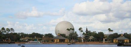 Terra dell'astronave al centro di Epcot, Orlando Florida Fotografia Stock Libera da Diritti