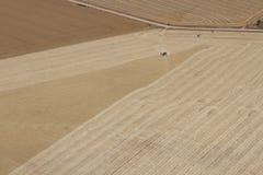 Terra dell'azienda agricola Fotografie Stock