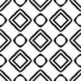 Terra della parte posteriore di bianco di dezine del nero di Semless fotografie stock libere da diritti