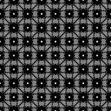 Terra della parte posteriore di bianco di dezine del nero di Semless immagine stock