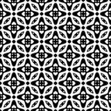 Terra della parte posteriore di bianco di dezine del nero di Semless Triangoli, estratto Immagine Stock