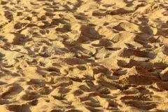 Terra della sabbia Immagini Stock