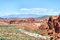 Terra delle rocce Fotografie Stock