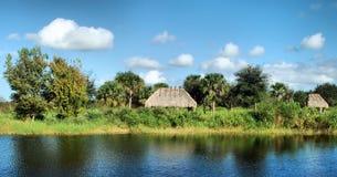 Terra delle seminole Fotografie Stock Libere da Diritti