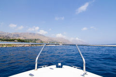 Terra di Beatifoul in Sicilia Immagini Stock Libere da Diritti