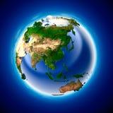 Terra di ecologia illustrazione vettoriale